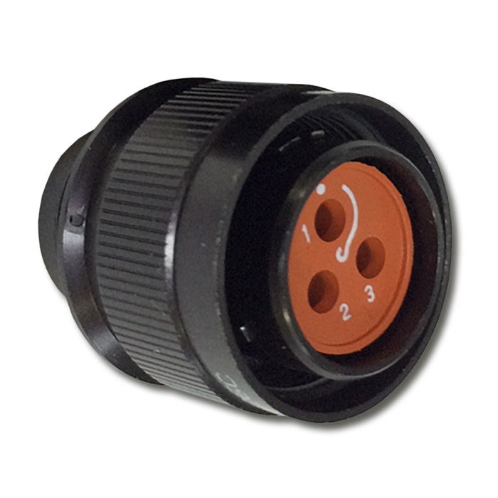 C0909A MMB Series - Vibration-Proof Plug Connector
