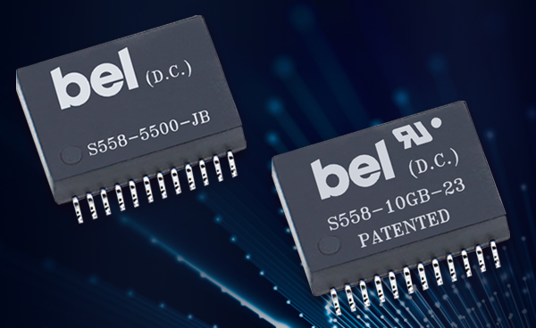 New Power Over Ethernet Magnetic Modules Support Higher Power, Extended Bandwidth Applications