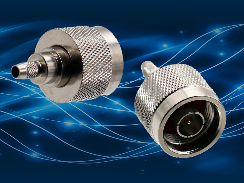 High Power, Low Loss Type N Connectors, Operating up to 4 GHz